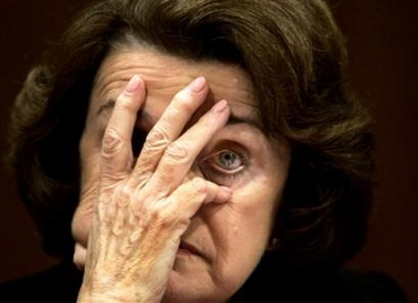 DIANE FEINSTEIN CAUGHT CASHING IN, ILLEGALLY