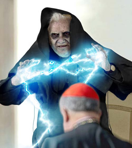 Pope Benedict Scary Br...