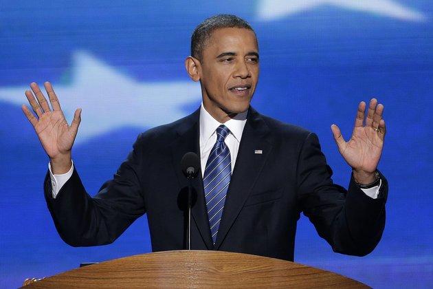 Obamas speach today