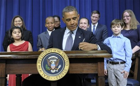 Barack Obama, Joe Biden, Hinna Zeejah, Nadia Zeejah, Taejah Goode, Kimberly Graves, Theophil Stokes, Elisabeth Carlin, Grant Fritz