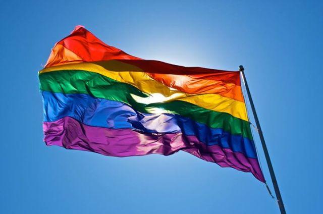 gayflagwaving